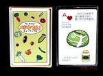 野菜トランプ 解説書付き(実用新案取得)
